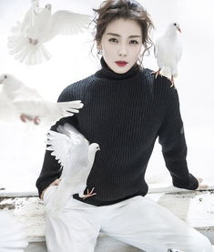 刘涛登杂志双封面演绎王子与公主