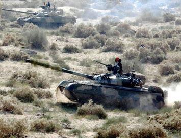 资料图:巴基斯坦陆军的哈立德主战坦克