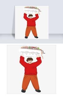 吃货大胖子面食代言人卡通插画图片素材 PSB格式 下载 动漫人物大全