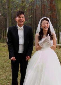 熊黛林黄宗泽拍婚纱照