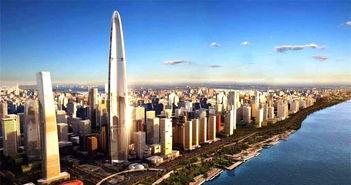 湖北秃头建筑,扬言成为中国第一高楼,却被削去161米建筑