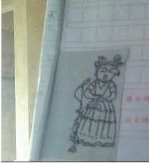 描写一个人特点的日记400