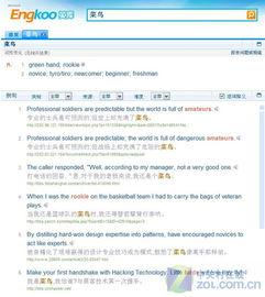 英库 到底有多酷 微软在线词典评测