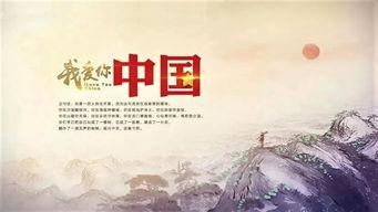 作品《我爱你,中国》