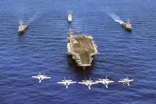 美军双航母来我家门口秀肌肉美媒美国需要承认中国的影响力