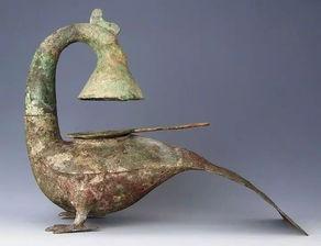 青铜凤灯西汉1971年广西出土广西壮族自治区博物馆藏
